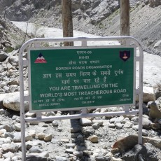 The World's Most Treacherous Road in the World