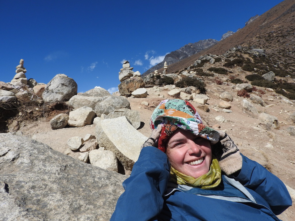 Blije Ann in Dingboche