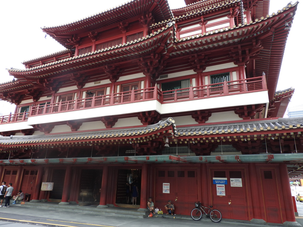 Buddhist Temple in Chinatown