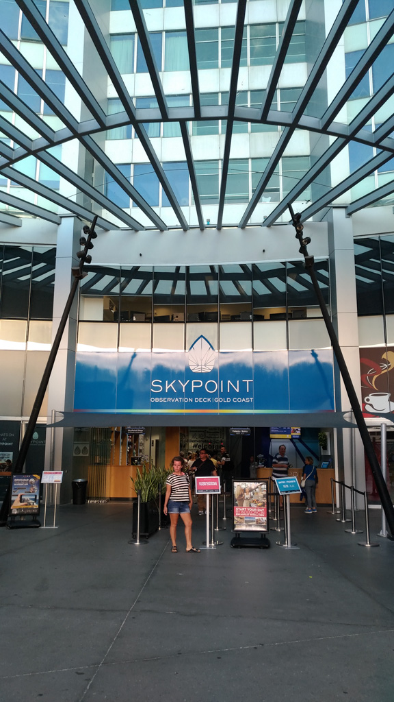 Skypoint Observation Deck in Surfers Paradise