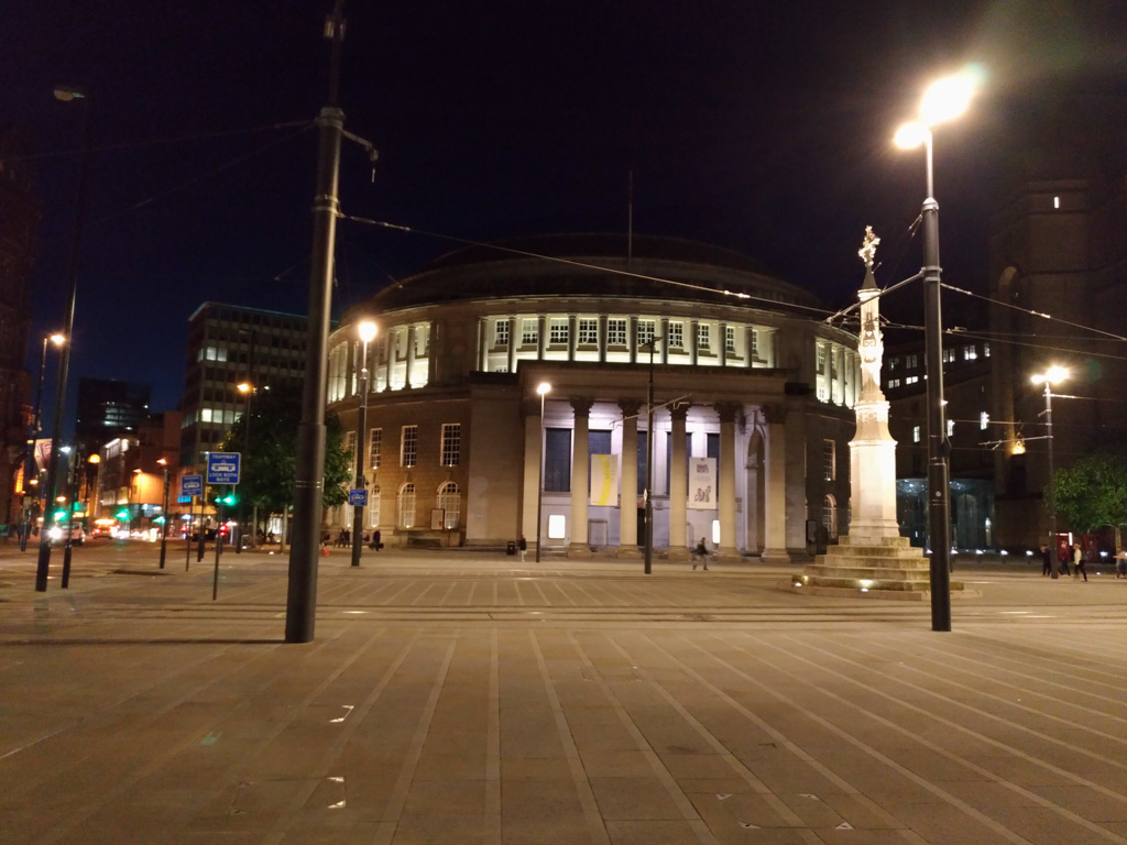The Library in Manchester