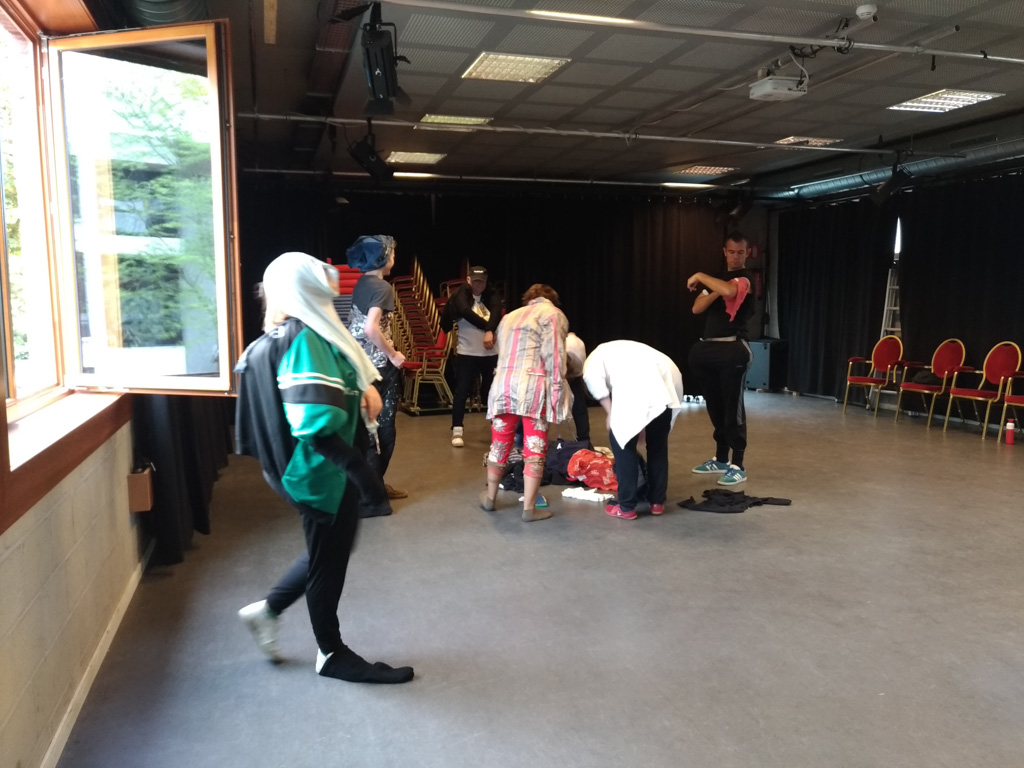 Theaterworkshop Buffoon, de meester van de ironie