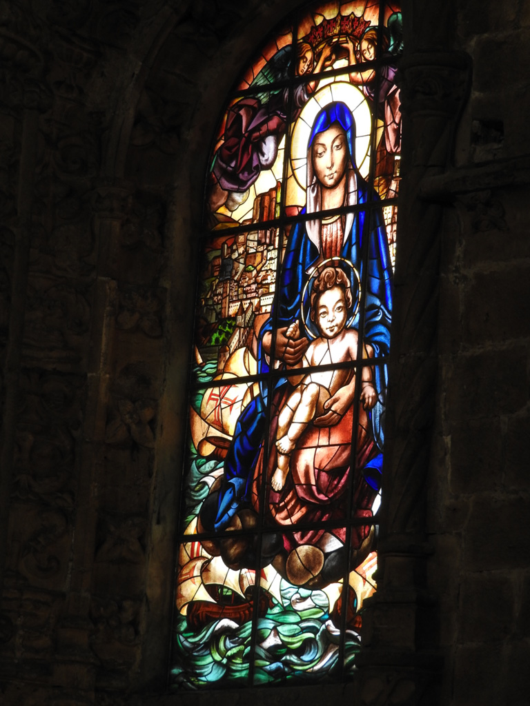 Glas in lood in Mosteiro dos Jerónimos