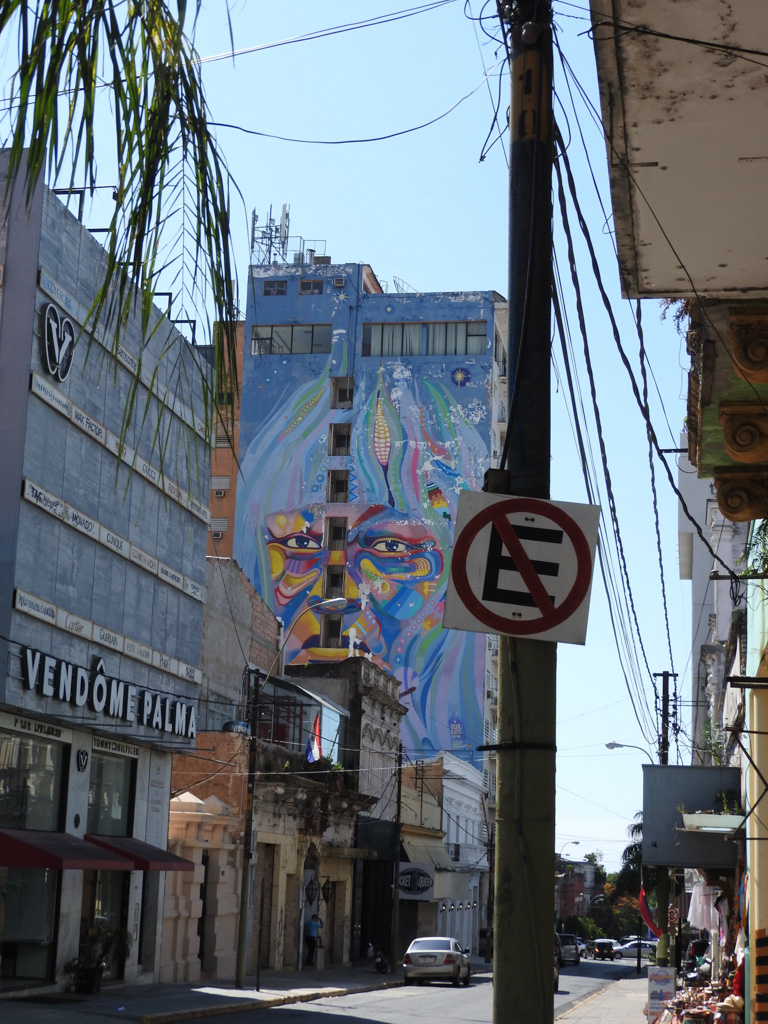 Murals in Asuncion